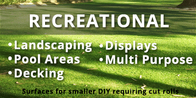 Artificial Grass - Recreational Idea